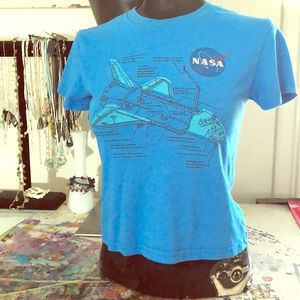 Youth nasa space shuttle tee